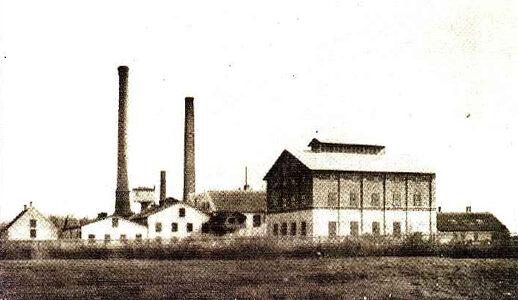 Landegger Zuckerfabrik um 1900